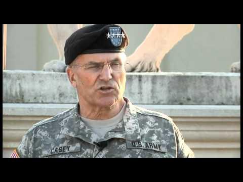 Gen. Casey visits U.S. Army Africa