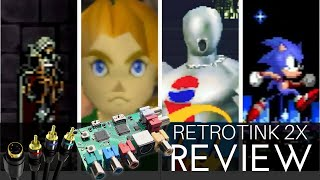Retrotink 2x Review - The missing S-video port for HD Televisions?