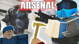Arsenal In Real Life Gameplay (Webcam)