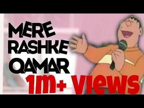 Doraemon Cartoons - GianSinging | Mere Rashke Qamar
