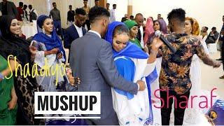 SHAADIYO SHARAF   NEW MUSHUP SONGS   AROOSKII MOHAMED JAMAC IYO YASMIN   OFFICIAL SOMALI MUSIC 2021