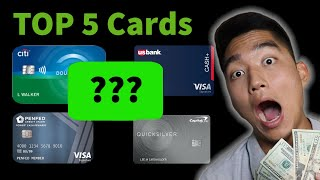 *5% Cash Back* BEST Cash Back Credit Cards 2020 - No Annual Fees