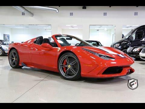 2015 Ferrari 458 Speciale Aperta - One Take