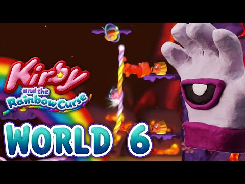 Kirby and the Rainbow Curse: World 6 (4-Player)