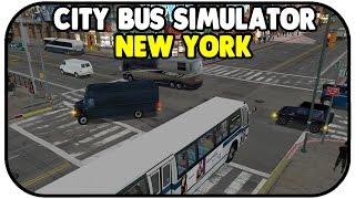 Kaffee & Der Qualitätsprüfer- City Bus Simulator 2010 New York #03 - CITY BUS NEW YORK DEUTSCH