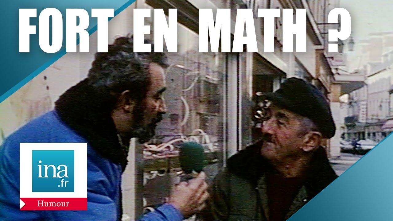 Les Français sont-ils nuls en mathématiques ?   Archive INA