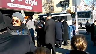 Filming blue bloods in Boro park