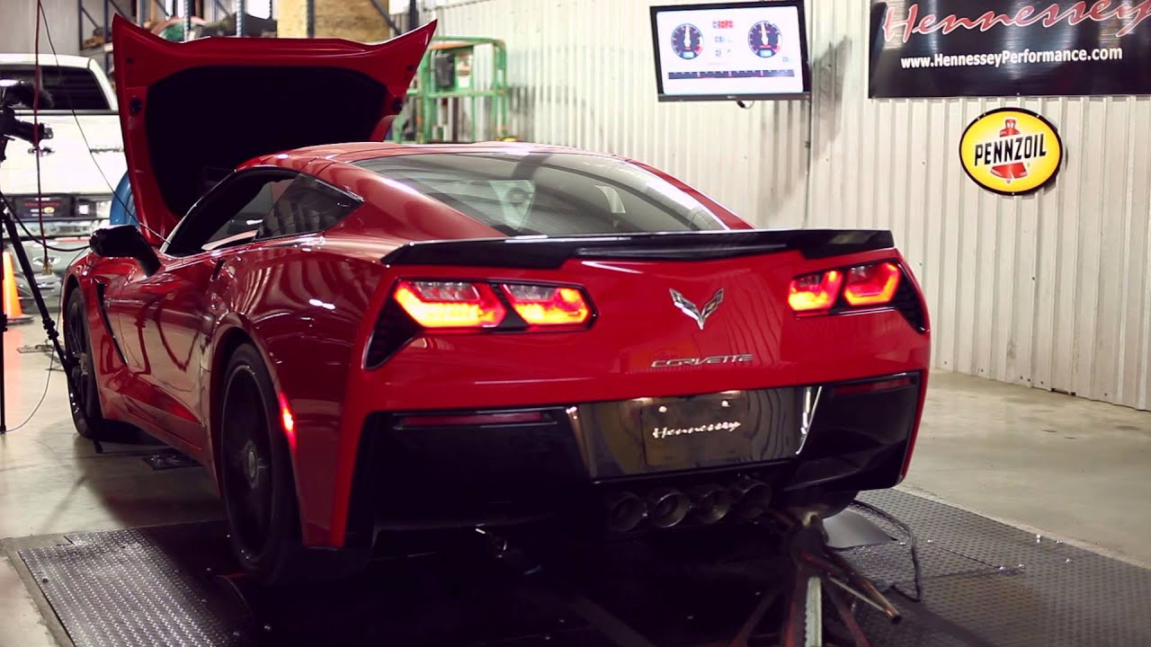 Hpe700 Twin Turbo C7 Corvette Chassis Dyno Testing Youtube