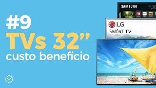 #9 MELHORES TV 32 POLEGADAS | Custo x Benefício! Boas e Baratas!