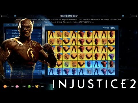 GEAR ABILITIES ENABLED! High level showcase of Flash, Firestorm and Supergirl with GEAR!