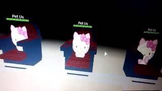 Roblox: Hello Kitty! PET US! :3