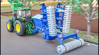 RC tractor seed machine gets unboxed and tested for the first time!