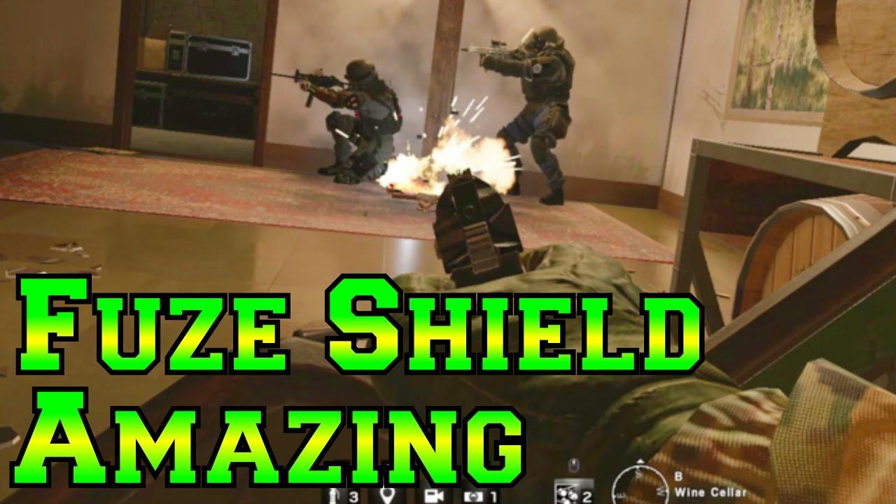 Fuze Shield is Amazing  - Rainbow Six Siege