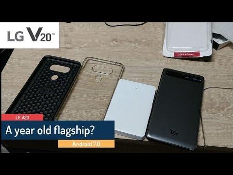 LG V20 - A year old flagship?