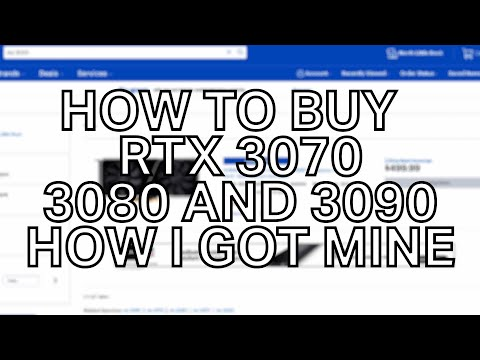 how to buy an rtx 3070