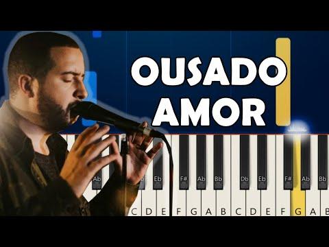 OUSADO AMOR (RECKLESS LOVE) - TECLADO MODO FÁCIL