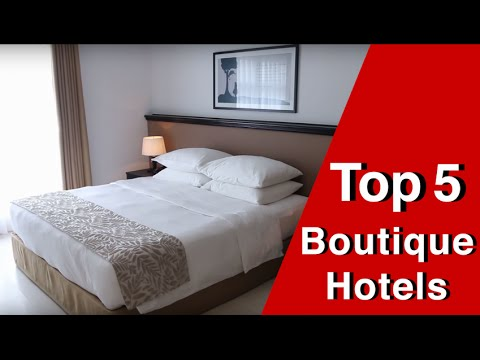 Top 5 Boutique Hotels in Ho Chi Minh City, Vietnam!