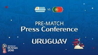2018 fifa world cup russia - uru vs por - uruguay pre-match press conference