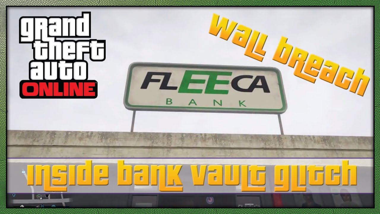 Bank glitch gta 5 online