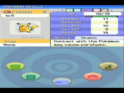 Pokémon Diamond & Pearl Cheats - Have All 4 Kanto Starter Pokémon