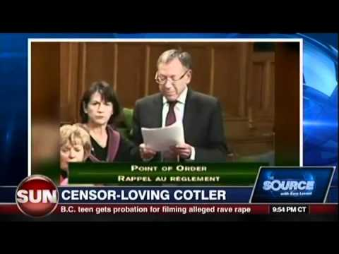 Ezra Levant: Larry Miller Is Right & Irwin Cotler...well don't get him started