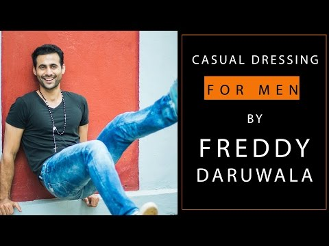 India's top model Freddy Daruwala gives tips on how to dress casual for men | S01E04