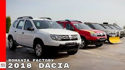 2018 Dacia Romania Mioveni Factory