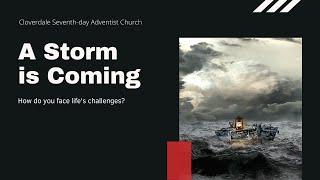 20210904 - A Storm is Coming: Pastor Marlon Seifert
