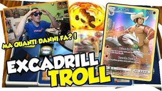 MI SCARTO il MAZZO e FACCIO 240 DANNI | EXCADRILL TROLL DECK|Mazzo pokemon ECLISSI COSMICA| TCGO ITA