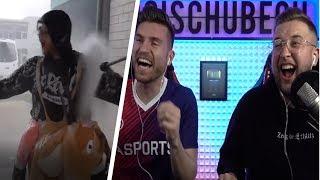 Tisi Schubech REAGIERT auf ALTE VIDEOS😱😂😂 | Fifa 19 Tisi Schubech Stream Highlights