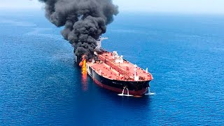 Tanker attacks in Gulf, From YouTubeVideos