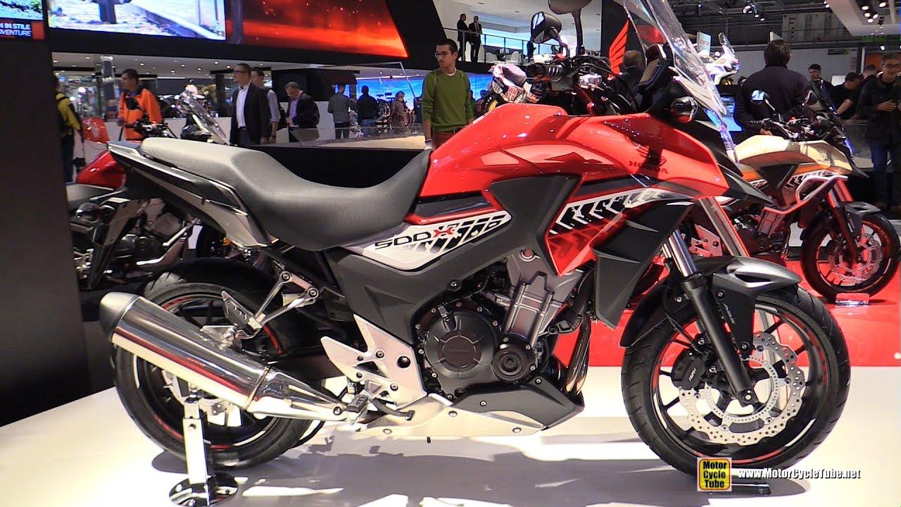 2016 Honda CB500X Walkaround