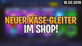 FORTNITE SHOP vom 18.2 - 🧀 Neuer Gleiter! 🛒 Fortnite Item Shop von Heute (18 Februar 2019) | Detu