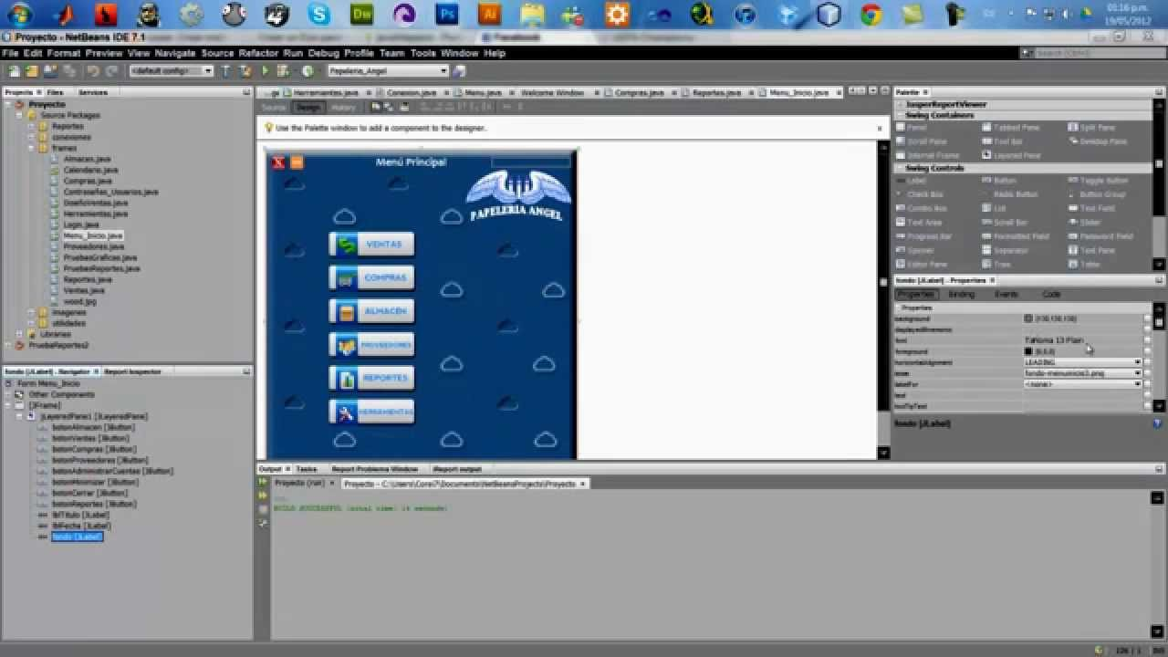 add image file to c project vu