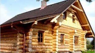 видео строим деревянный дом