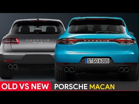 Old Vs New Porsche Macan See The Differences Youtube