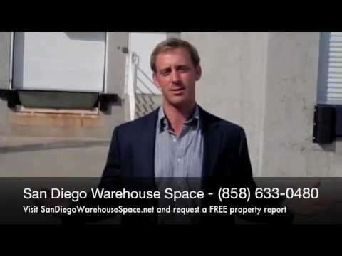San Diego Warehouse and Industrial Space for Rent
