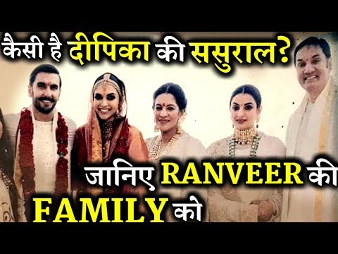Meet Deepika Padukone's In-Laws and Ranveer Singh Family