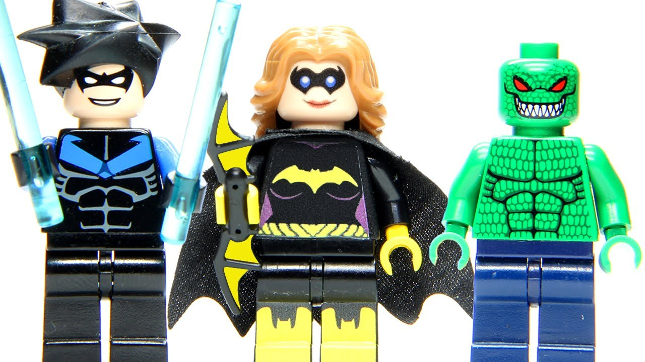 LEGO Killer Croc's Lair: Nightwing to the Rescue Cuusoo ...