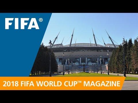 Russia 2018 Magazine: New stadium to dominate Saint Petersburg