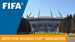 Russia 2018 Magazine: New stadium to dominate Saint Petersburg