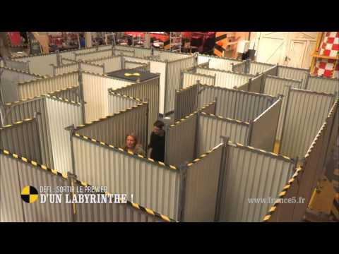 Défi : sortir le premier d'un labyrinthe  On n'est pas que des cobayes cobayesf5