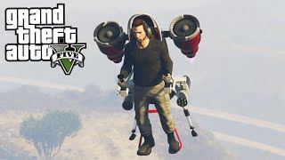 DE JETPACK TESTEN MET VOLLEDIGE UPGRADES!! - GTA V (Doomsday Heist DLC Freeroam)