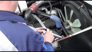 Acros-585 Acros-595 Plus видеоинструкция. Ежедневный осмотр моторной установки. Часть 1
