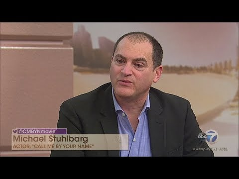 'Call Me By Your Name' actor Michael Stuhlbarg talks about new film