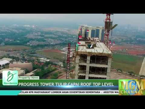 Progress B Residence Capai Roof Top Tower Tulip