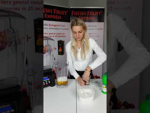 Fresh Fruit Express Preparation Cocktail Waring Blender English