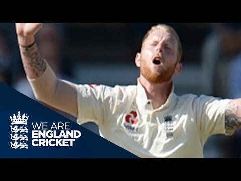 Elgar, Amla And Du Plessis Tighten Grip On Match - England v South Africa 2nd Test Day Three 2017