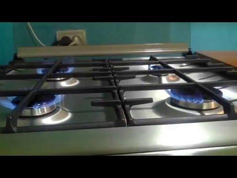 Газовая плита Electrolux EKK954504X с электрической духовкой - YouTube