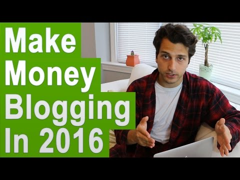 How To Make Money Blogging Online In